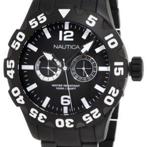 Nautica Bfd 100 N23099g Kello Musta / Teräs