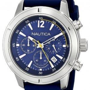 Nautica Bfd 101 A17652g Kello Sininen / Muovi