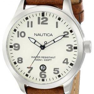 Nautica Bfd 101 N09560g Kello Valkoinen / Nahka