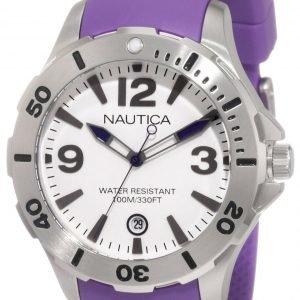 Nautica Bfd 101 N11551m Kello Valkoinen / Muovi