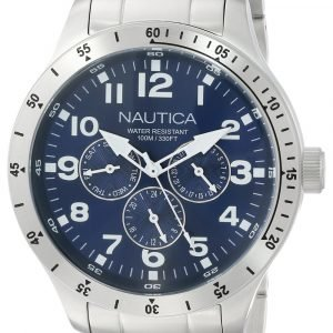 Nautica Bfd 101 N14672g Kello Sininen / Teräs