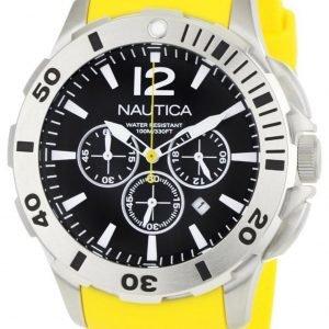 Nautica Bfd 101 N16566g Kello Musta / Muovi