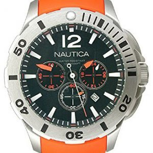 Nautica Bfd 101 N16567g Kello Musta / Kumi
