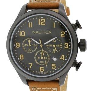 Nautica Bfd 101 N16599g Kello Musta / Nahka