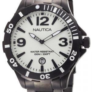 Nautica Bfd 101 N17572g Kello Valkoinen / Teräs