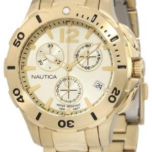 Nautica Bfd 101 N21532m Kello Kullattu / Kullansävytetty
