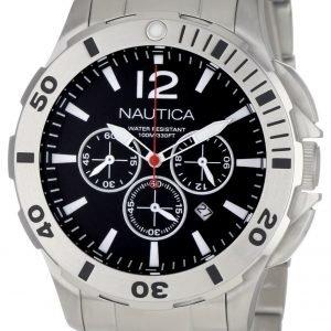 Nautica Bfd 101 N23519g Kello Musta / Teräs
