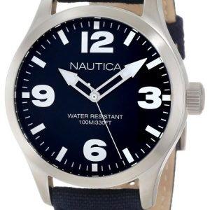 Nautica Bfd 102 A11555g Kello Sininen / Nahka