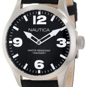 Nautica Bfd 102 N11556g Kello Musta / Nahka