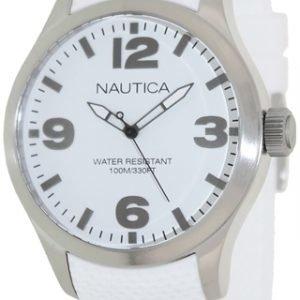 Nautica Bfd 102 N11592g Kello Valkoinen / Muovi
