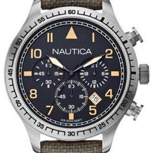 Nautica Bfd 105 A16579g Kello Musta / Nahka