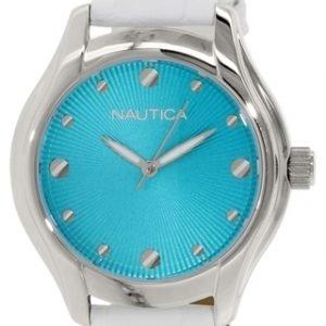 Nautica Dress N10509m Kello Sininen / Nahka