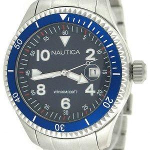 Nautica Dress N14560g Kello Sininen / Teräs
