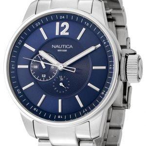 Nautica Dress N17516g Kello Sininen / Teräs