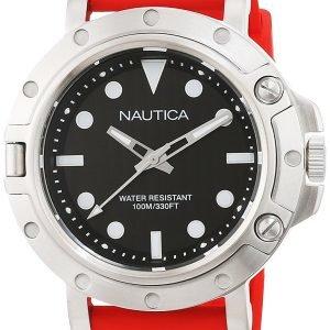 Nautica Dress Nad12549g Kello Musta / Kumi