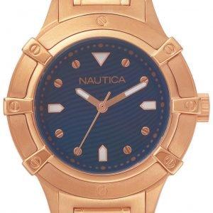 Nautica Dress Napcpr005 Kello Sininen / Punakultasävyinen