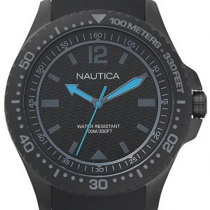 Nautica Dress Napmau007 Kello Musta / Kumi