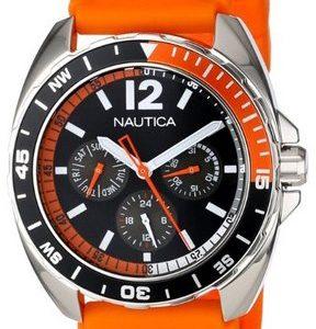 Nautica Multifunction N09908g Kello Musta / Muovi