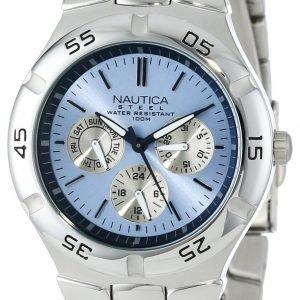 Nautica Multifunction N10075 Kello Sininen / Teräs