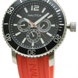 Nautica Multifunction N16639g Kello Musta / Muovi