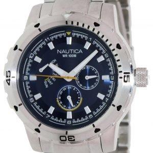 Nautica Multifunction N18621g Kello Sininen / Teräs