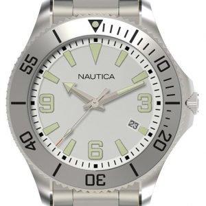 Nautica Nac N11577g Kello Hopea / Teräs