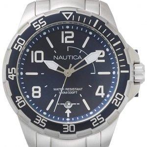 Nautica Napplh004 Kello Sininen / Teräs