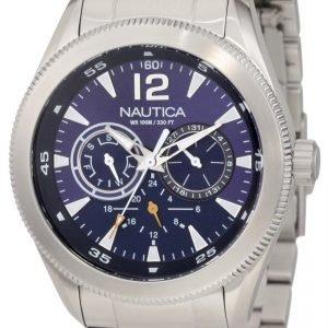 Nautica Ncs N17601g Kello Sininen / Teräs