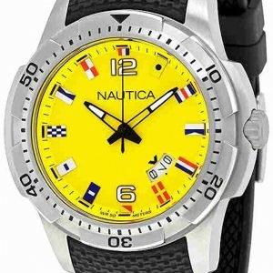 Nautica Ncs Nai13516g Kello Keltainen / Kumi