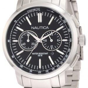 Nautica Nct N22600g Kello Musta / Teräs