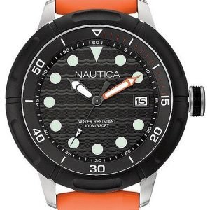 Nautica Nmx A16598g Kello Musta / Muovi