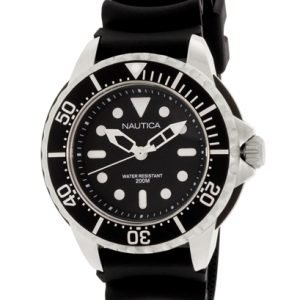 Nautica Nmx N18630g Kello Musta / Muovi