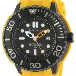 Nautica Nmx N28508g Kello Musta / Kumi