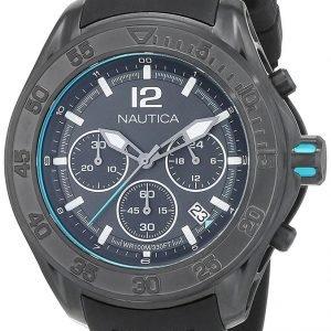 Nautica Nmx Nad25000g Kello Musta / Kumi