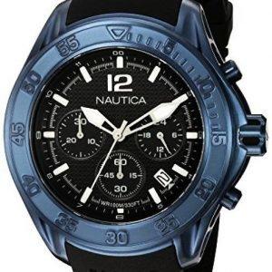 Nautica Nmx Nad25504g Kello Musta / Kumi