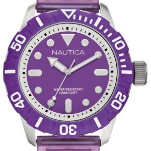 Nautica Nsr A09606g Kello Violetti / Kumi