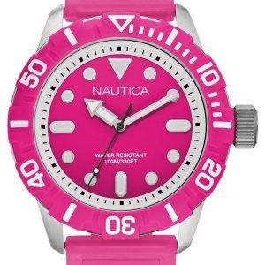 Nautica Nsr A09607g Kello Pinkki / Muovi
