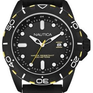 Nautica Nsr A11621g Kello Musta / Kumi