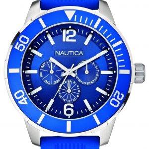 Nautica Nsr A14624g Kello Sininen / Muovi