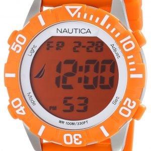 Nautica Nsr N09927g Kello Oranssi / Muovi
