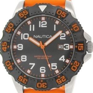 Nautica Nsr N12641g Kello Musta / Muovi