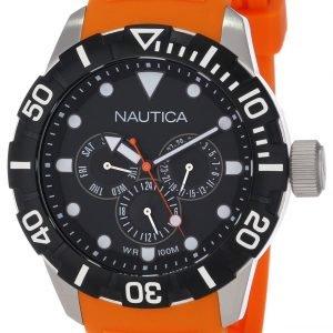 Nautica Nsr N13646g Kello Musta / Muovi