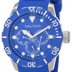 Nautica Nsr N13649g Kello Sininen / Muovi