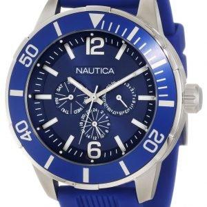 Nautica Nsr N14624g Kello Sininen / Muovi