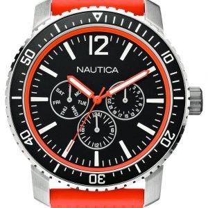 Nautica Nsr N15642g Kello Musta / Kumi