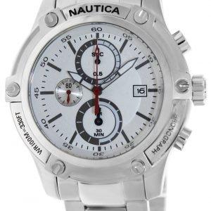 Nautica Nst A20058g Kello Valkoinen / Teräs
