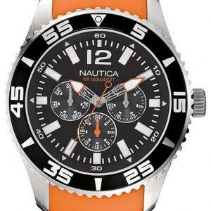 Nautica Nst N11088g Kello Musta / Muovi