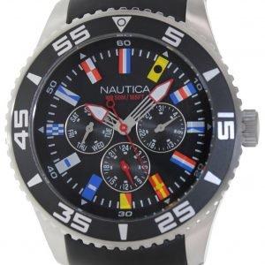 Nautica Nst N12626g Kello Musta / Kumi