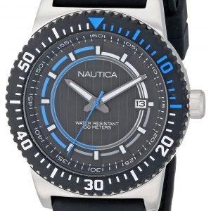 Nautica Nst N12636g Kello Musta / Muovi