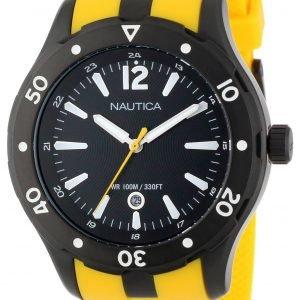 Nautica Nst N15626g Kello Musta / Muovi